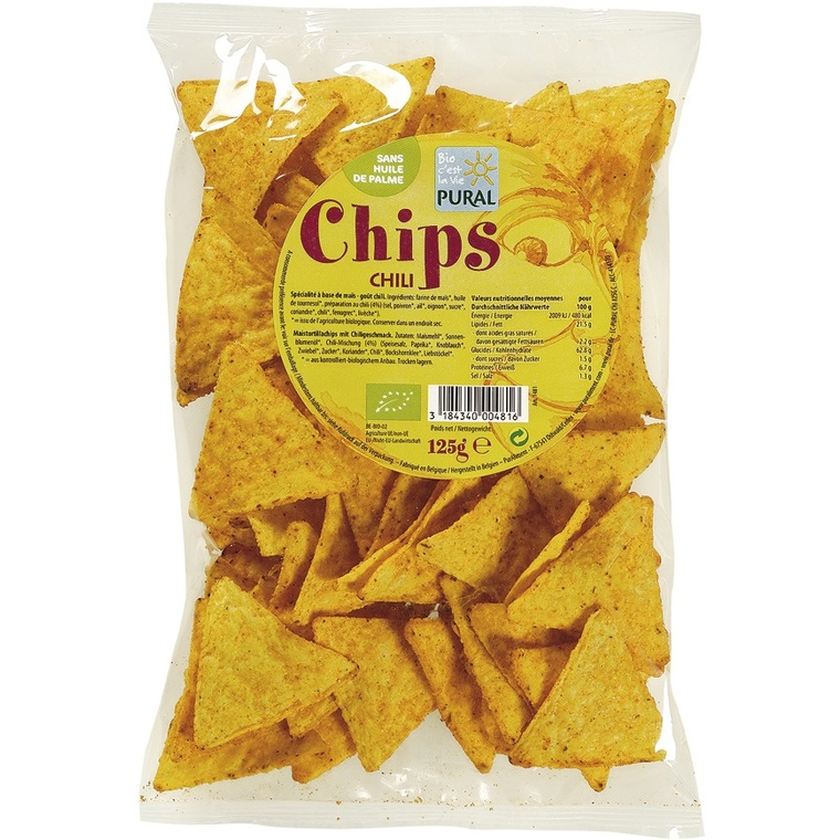 Chips Maïs Chili PURAL