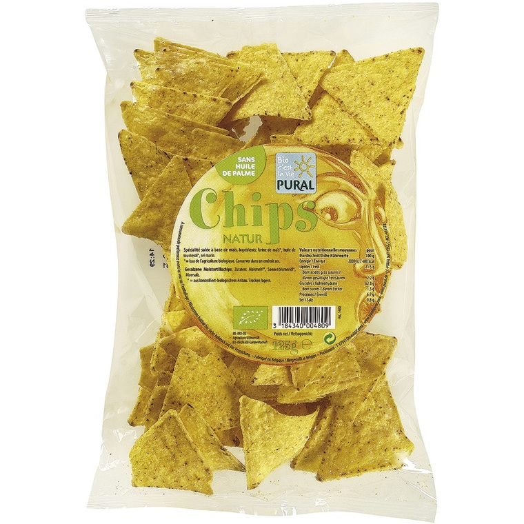 Chips Maïs nature PURAL 360851