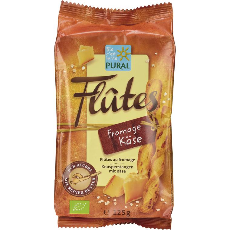 Flûtes croustillantes au fromage PURAL 360865
