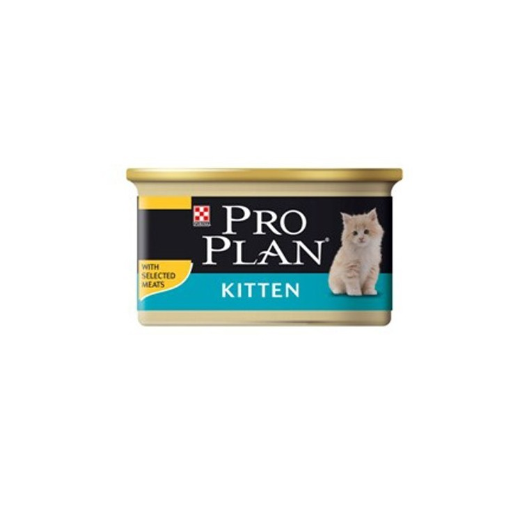 Aliment pour chat PP Wet Cat junior. La boite de 85 g 363514