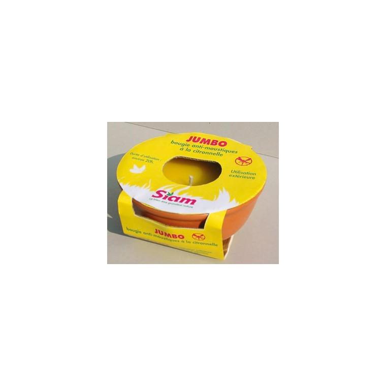 Bougie en terre cuite citronnelle 363951