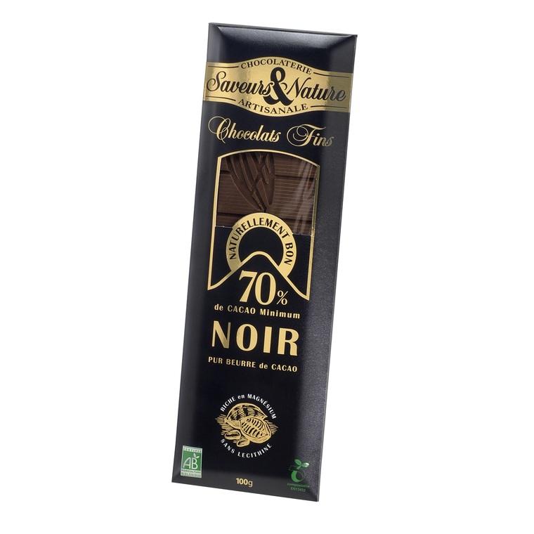 Chocolat noir 70% SAVEUR ET NATURE 364535