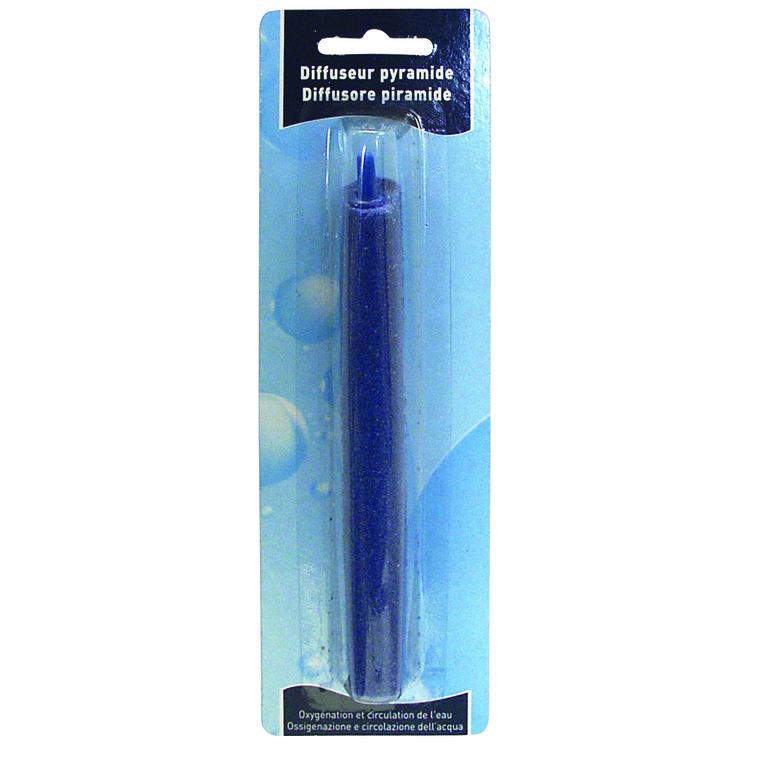 Diffuseur pyramide bleu 15 cm 365991