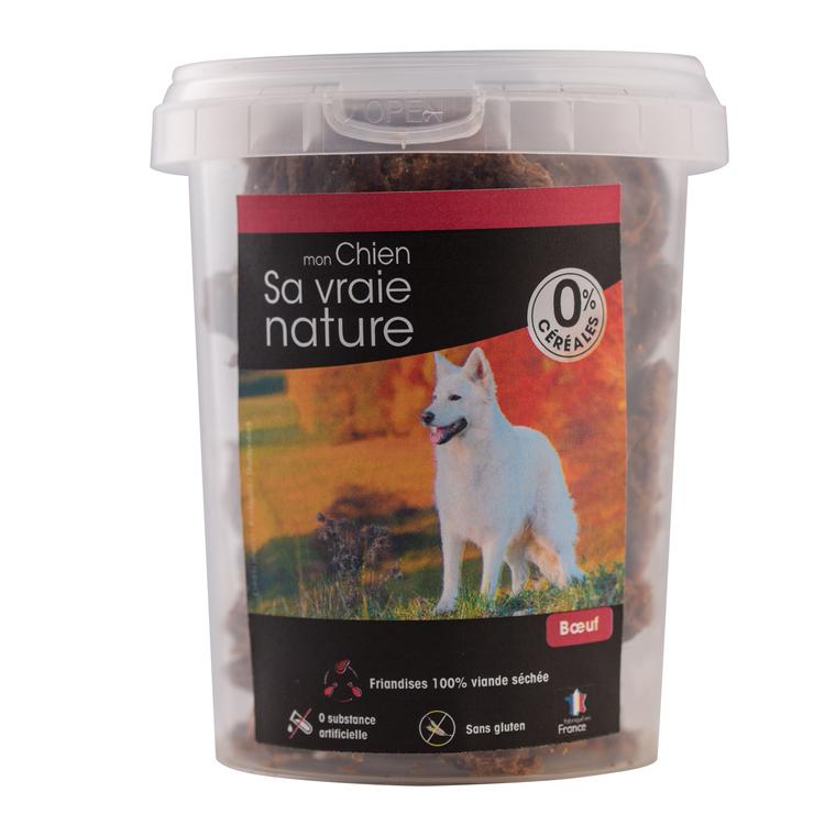 Friandises Sa vraie nature chien - 100% viande de boeuf séchée - 150 g 366609