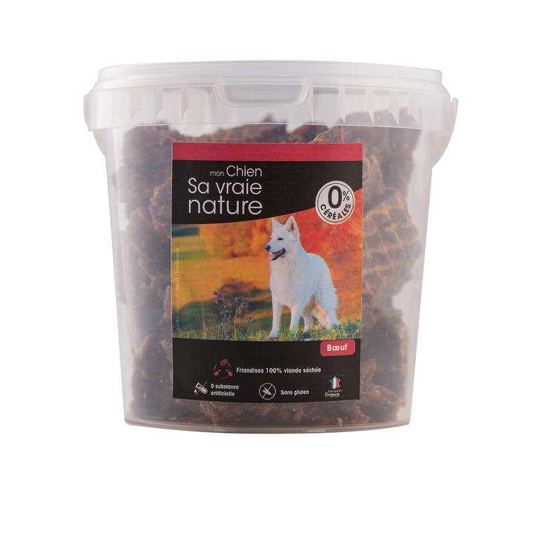 Friandises Sa vraie nature chien - 100% viande de boeuf séchée - 350 g 366612