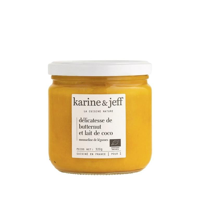 Délicatesse de butternut et lait de coco bio - bocal de 320 g 366792