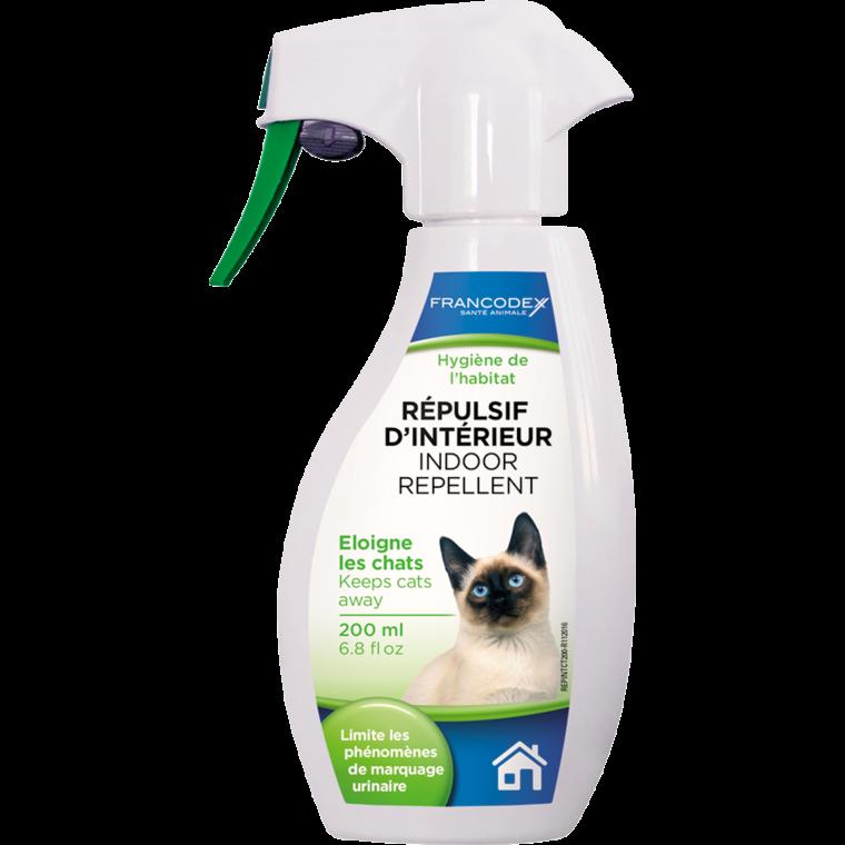 Répulsif d'intérieur pour chat en spray 200 ml 366913