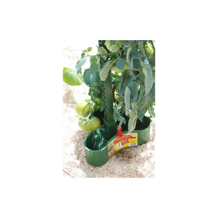Réservoir 2L système de goutte à goutte pour tuteur à tomate - vert 36705