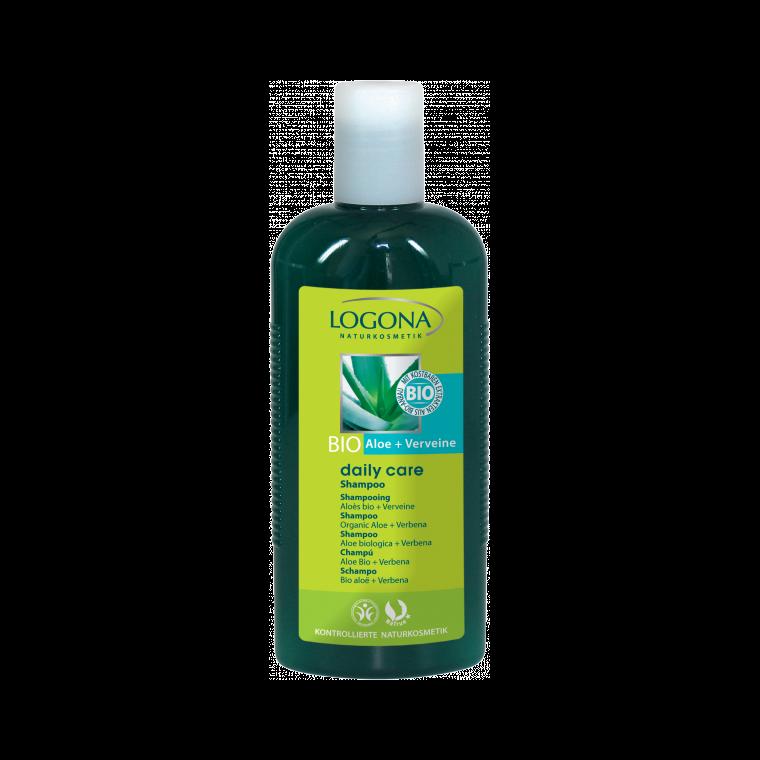 Shampoing bio à l'aloès bio et la verveine daily care en flacon 250 ml 367167