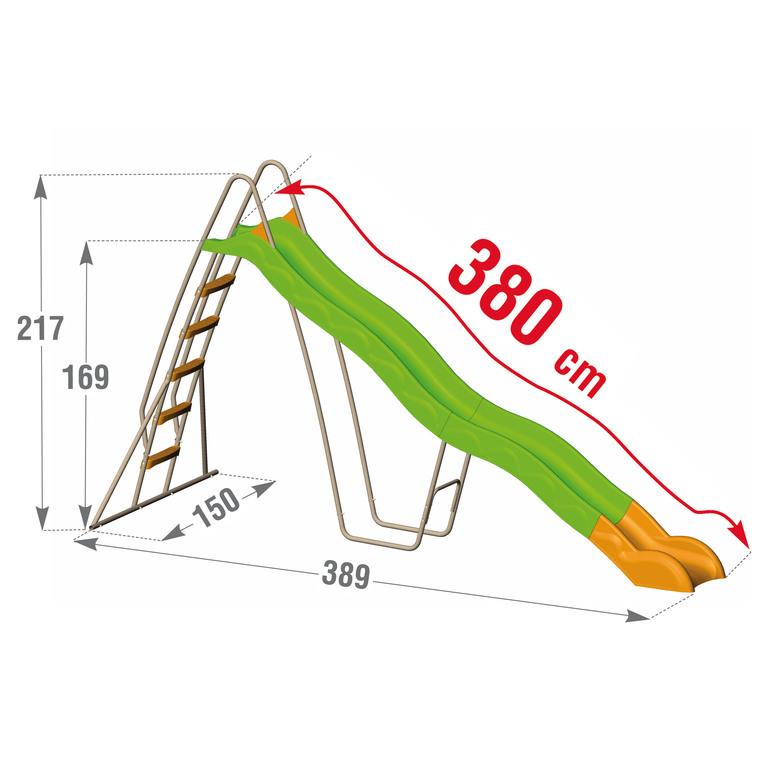 Toboggan 3,80 m 367454