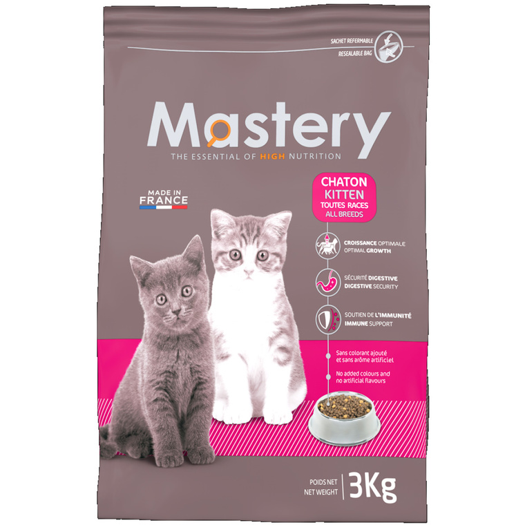 Croquettes pour chaton Mastery 3 kg 367487