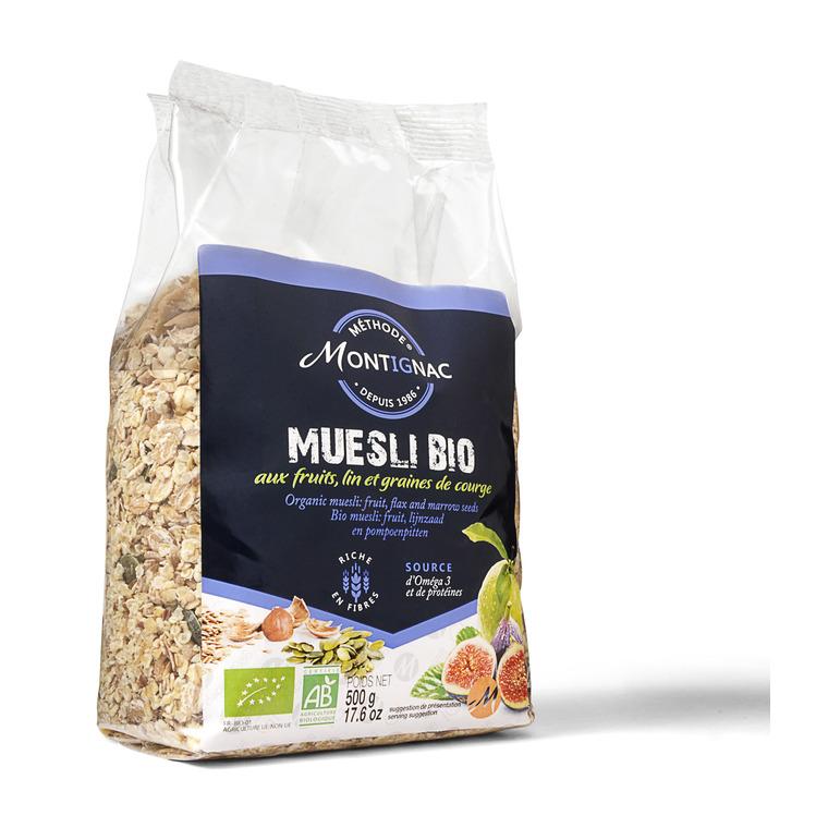 Muesli aux fruits et graines - 500 g 370262