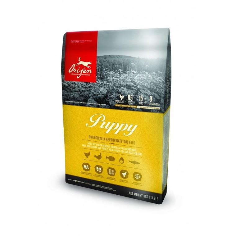 Nourriture sèche Orijen Puppy pour chiens en sac de 6 kg Croquettes pour chiot Orijen® Puppy 6 kg 370526
