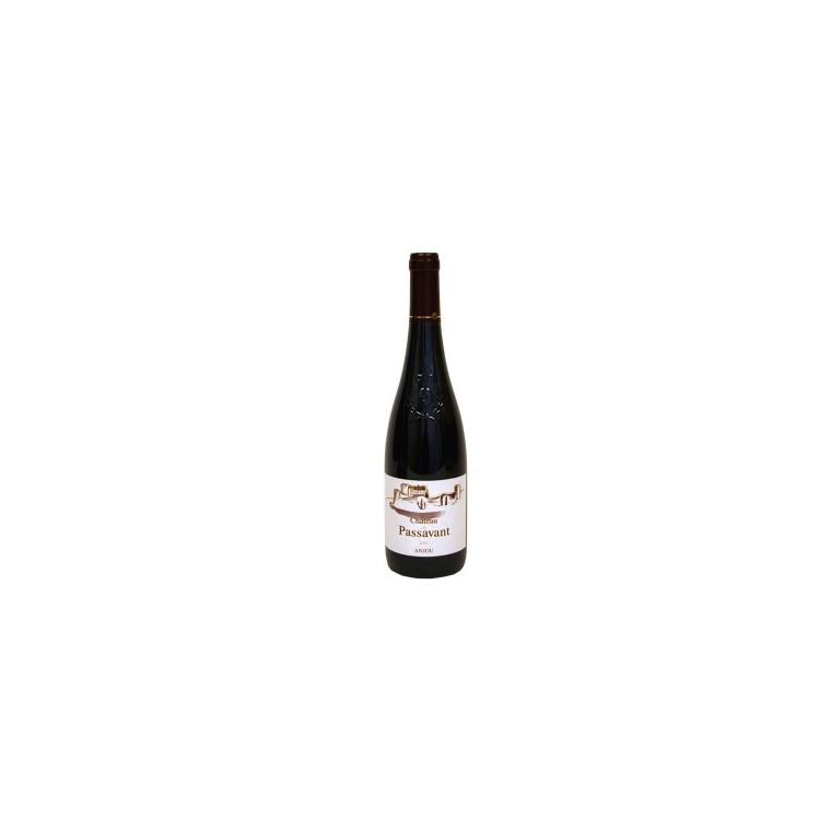 Vin rouge d'Anjou bio AOC Passavant 75 cl 37128
