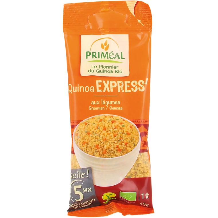 Quinoa express cuisine légère bio en sachet de 65 g 371374