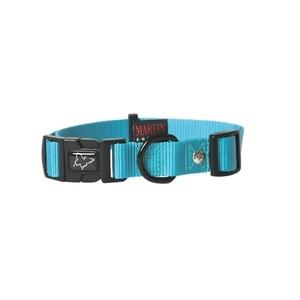 Collier chien réglable 25mm / 45-65cm bleu