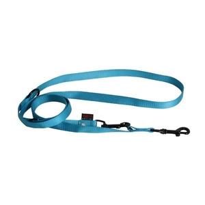 Laisse chien dressage 3pt 20 mm / 200 cm bleu