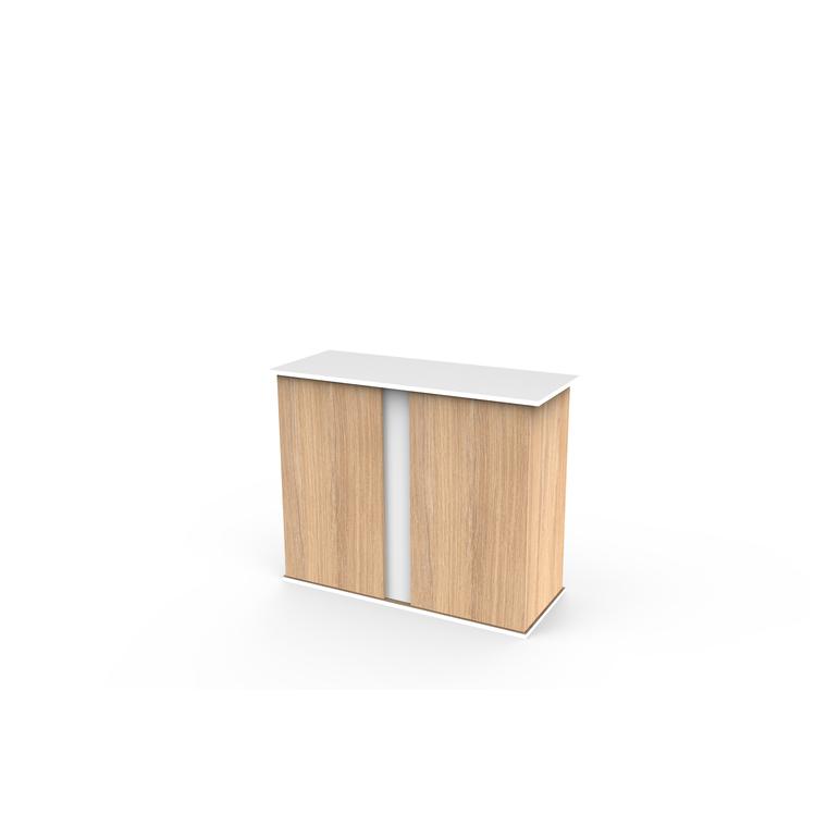 Meuble émotions pro 100 amber oak white 102x40xH83 cm 373124