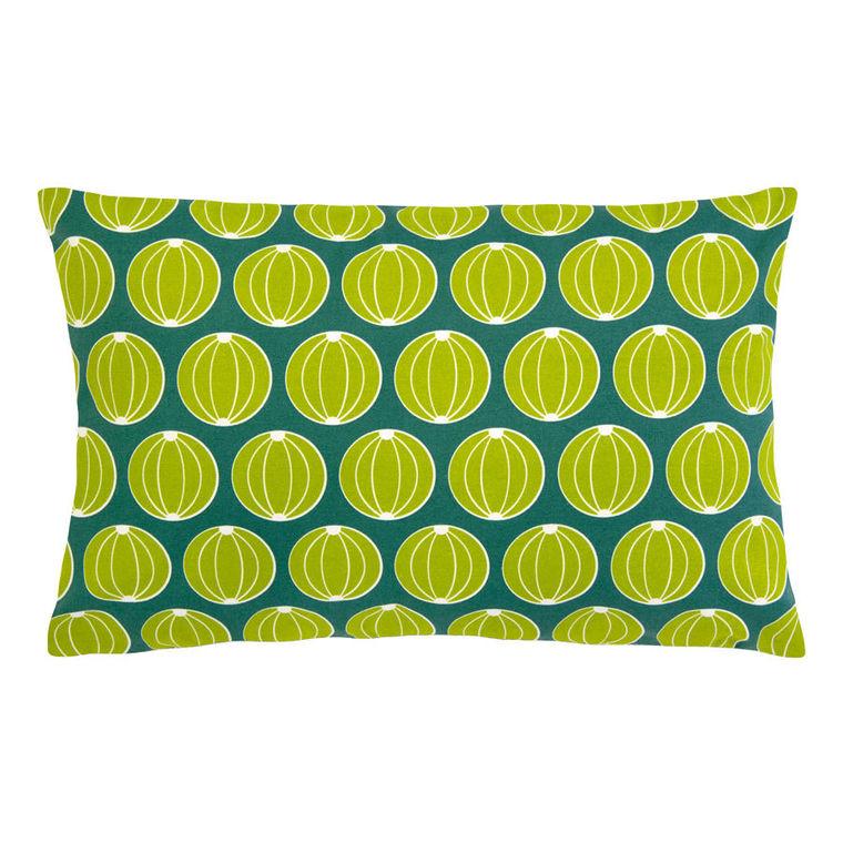Coussin envie d'ailleurs melons vert de jade 68 x 44 cm 373499