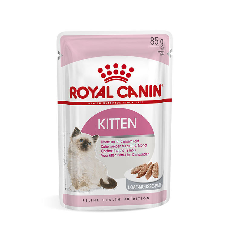 Sachet de Kitten mousse pour chaton Royal Canin - 85 gr 373540