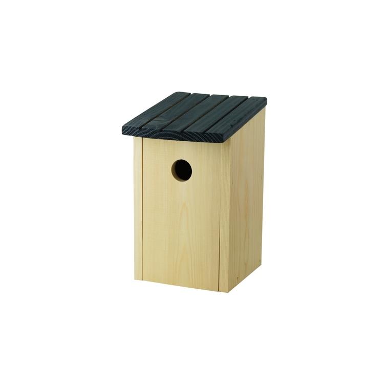 Nichoir chez lulu pour mésanges bleues en bois 15 x 13 x 23 cm 373697