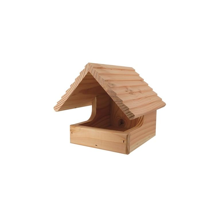 Nichoir le chalet pour rouges-gorges en bois 21 x 21 x 25 cm 373699