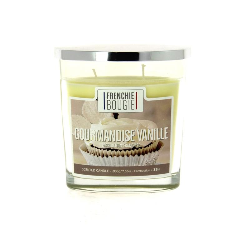 Bougie parfumée parfum gourmandise vanille - Grand modèle 374435