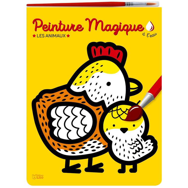 Les Animaux Peinture Magique à l'eau 3 ans Éditions Lito 374983
