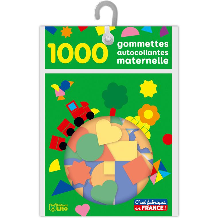 1000 Gommettes Autocollantes Maternelle Les Gommettes Autocollantes 3 ans Éditions Lito 375023