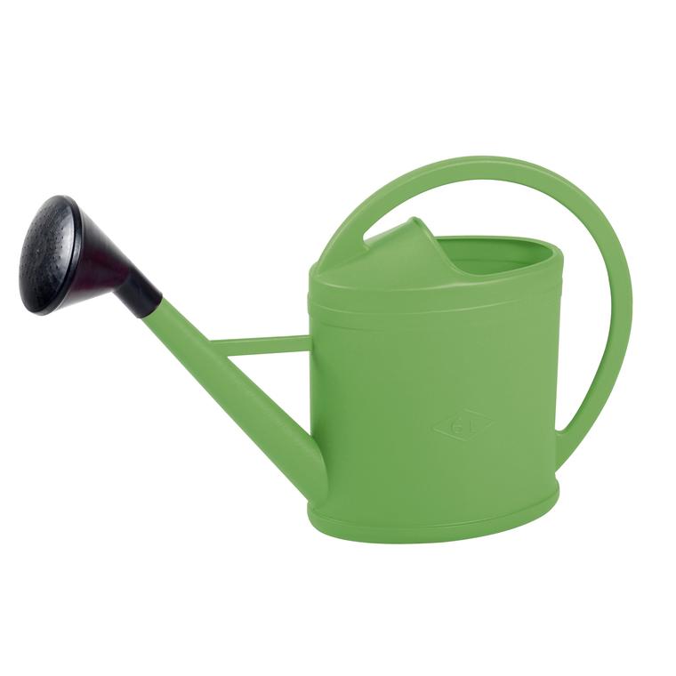 Arrosoir ovale parisien couleur vert matcha – 6L 375063