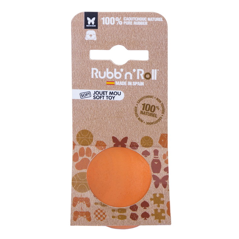 Rubb'N'Soft S Tennis Orange 375385