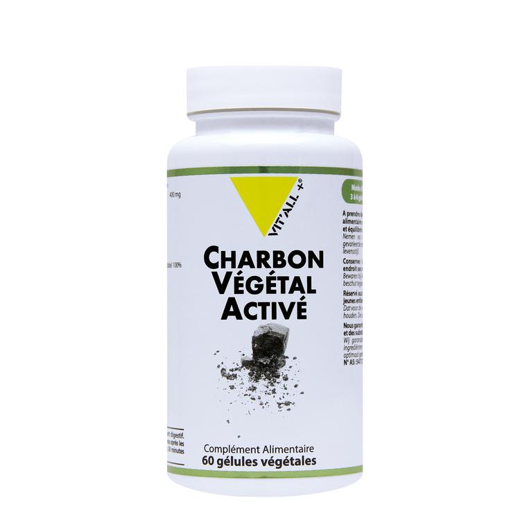 Charbon végétal activé en boite de 400 mg 375501