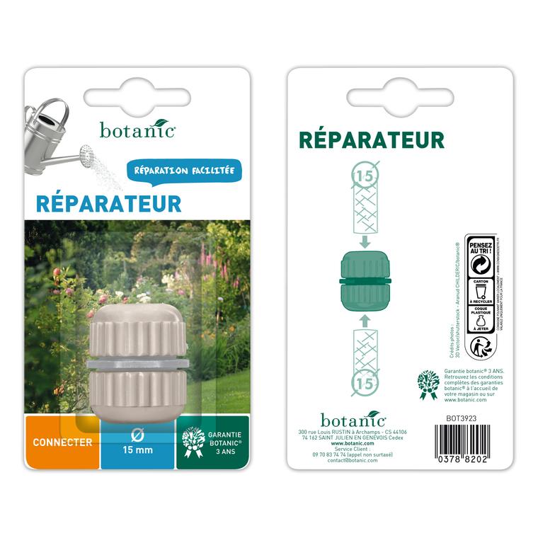 Réparateur plastique pour tuyaux Ø 15 mm 378820