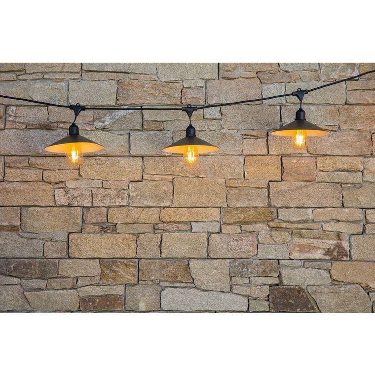 Guirlande lumineuse vintage lumière blanche secteur 379357