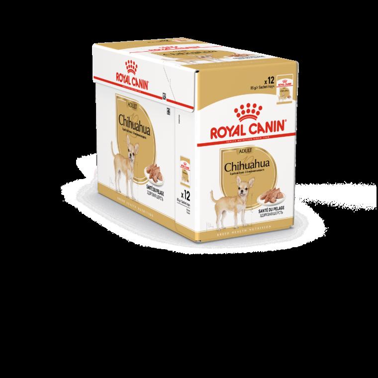 Sachets de nourriture pour Chihuahua Adulte Royal Canin - 12x85 gr 379420