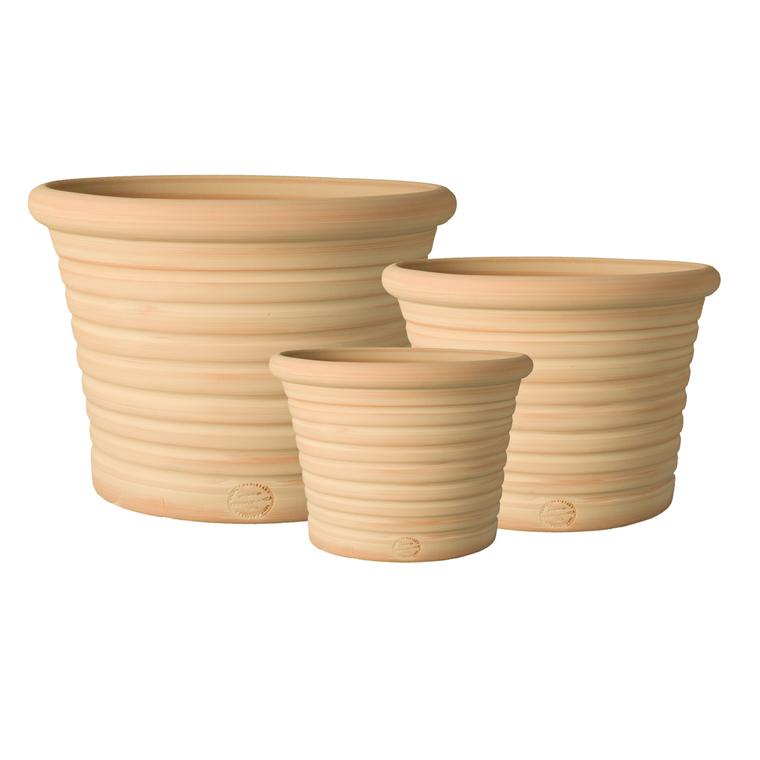 Pot strié gamme cocio liso Ø 40 cm 379455