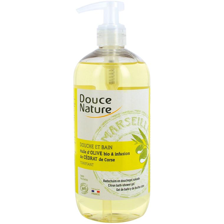 Douche bain ho cedrat 500 ml Douce Nature 380975