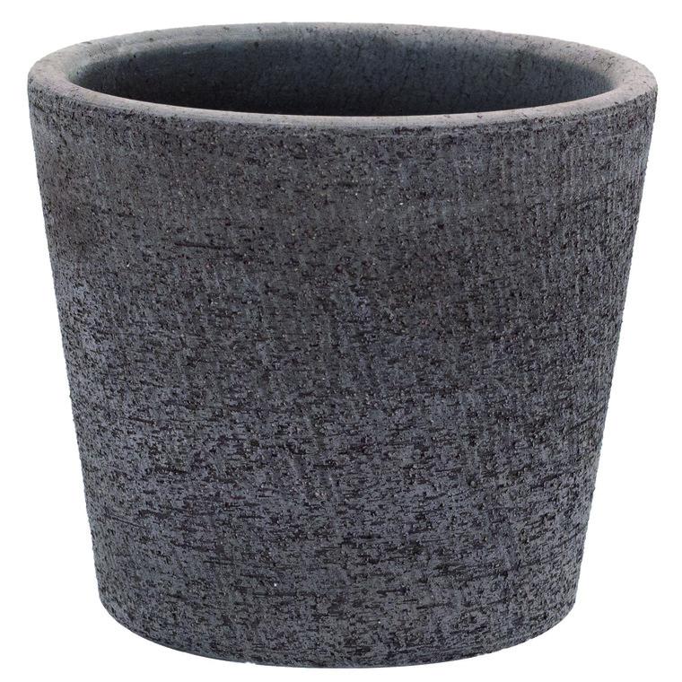 Pot Etrusca gris gamme linea Ø 14 cm 382333