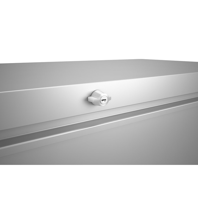 Coffre loungebox blanc 160x70x83,5 cm 382358