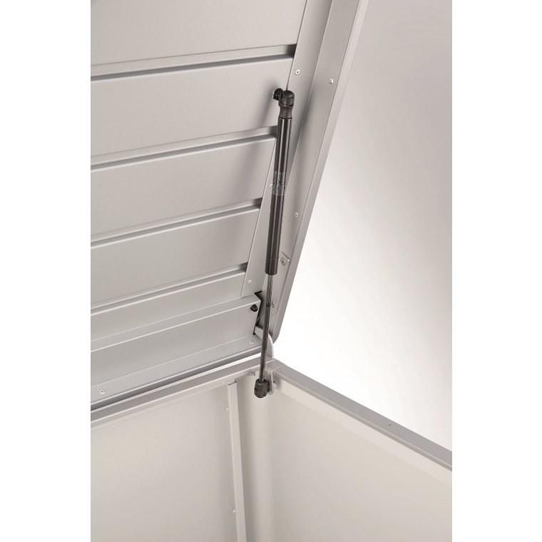 Coffre loungebox gris foncé 160x70x83,5 cm 382366
