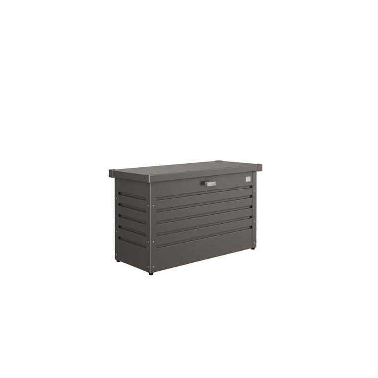 Coffre de jardin gris foncé 101x46x61 cm 382381