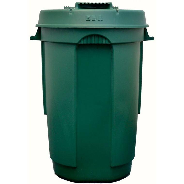 Poubelle à roulettes verte – 110L 383169