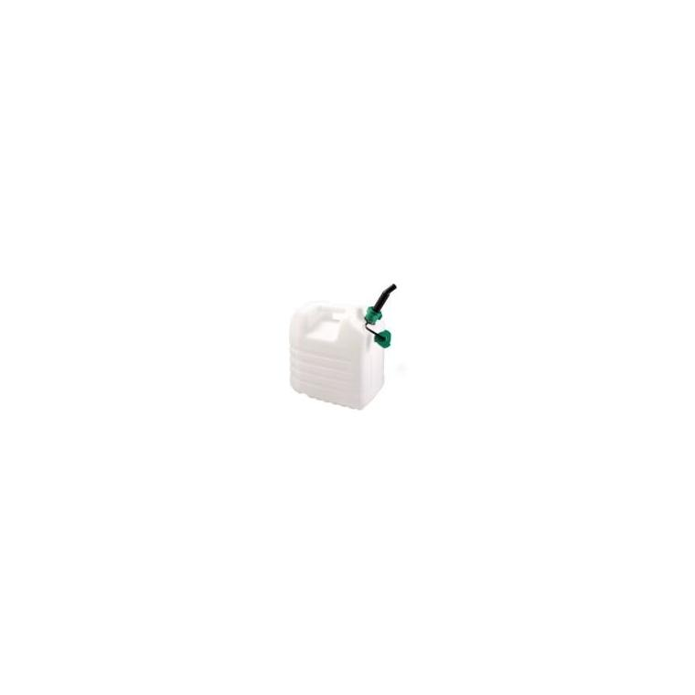 Jerrican alimentaire avec bouchon verseur et robinet– 20L