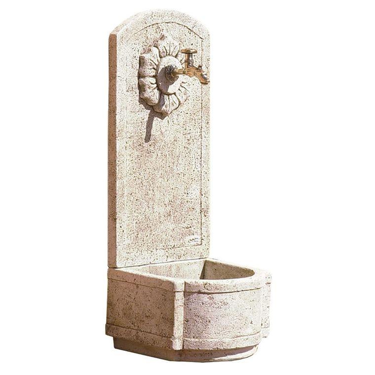 Fontaine murale de jardin rosace 383668