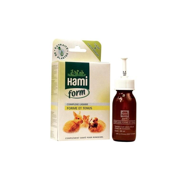 Complexe liquide forme et tonus pour rongeurs Hamiform 60ml 383931