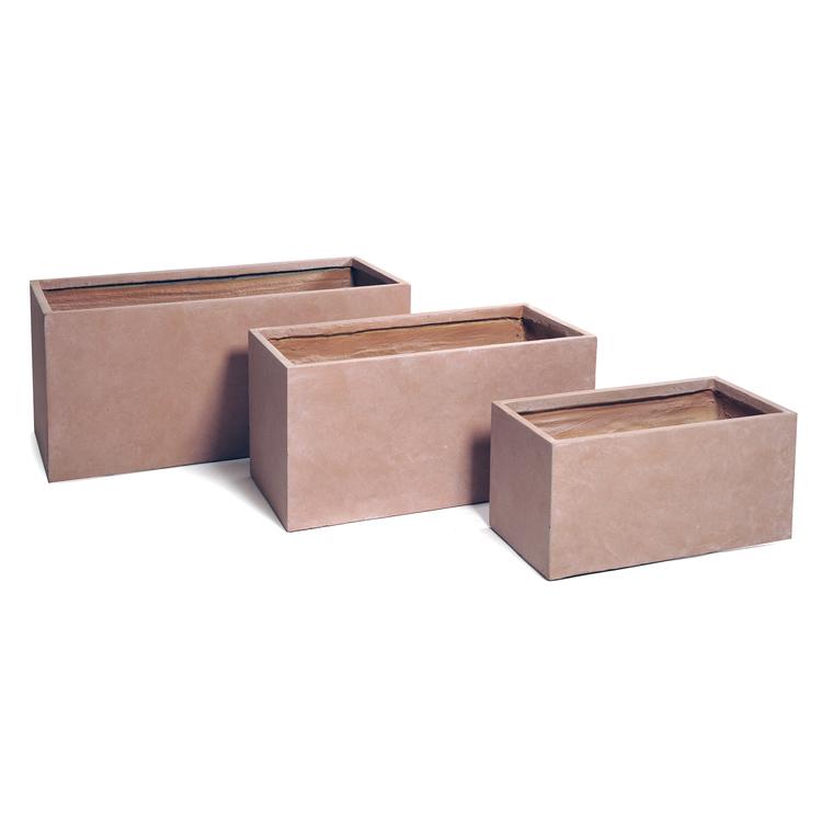 Bac rectangulaire gamme Genève L80xl40xH40 cm 385464