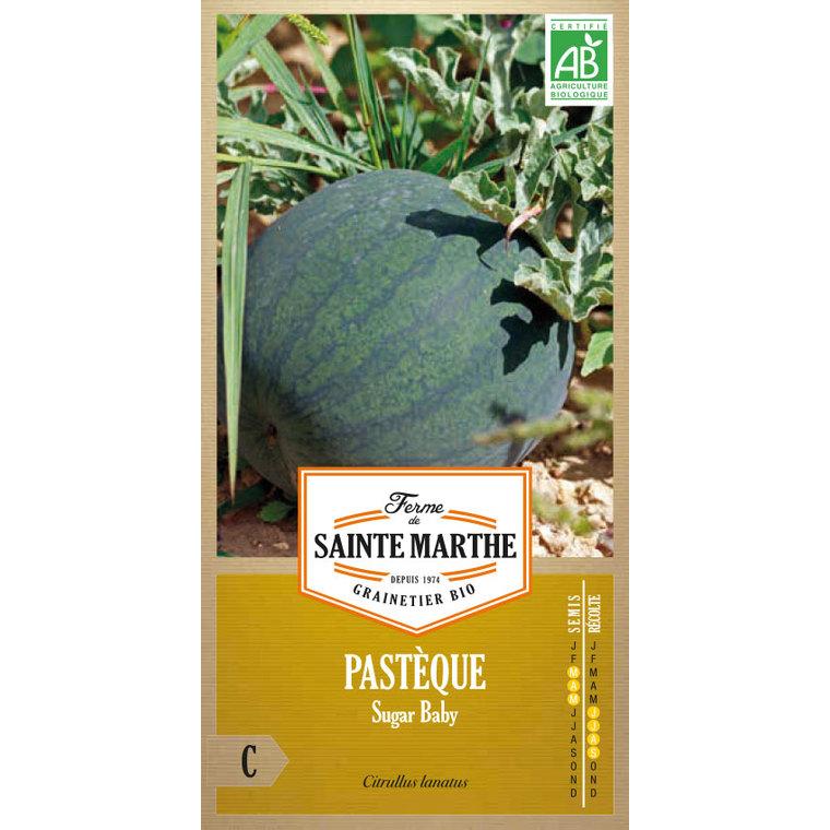 Graines de Pastèque Sugar Baby bio en sachet 386728