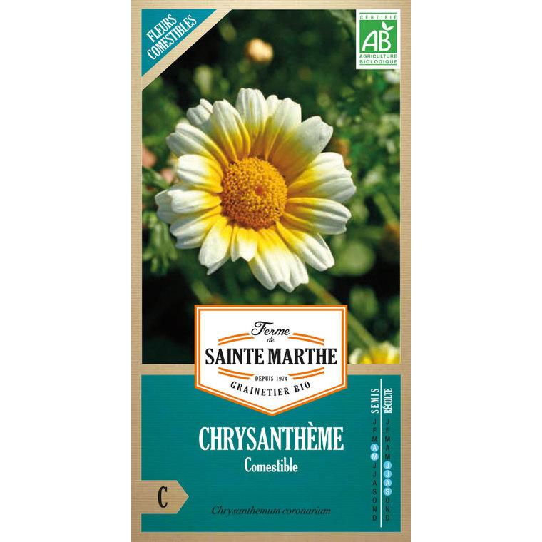 Graines de Chrysanthème comestible en sachet 386760