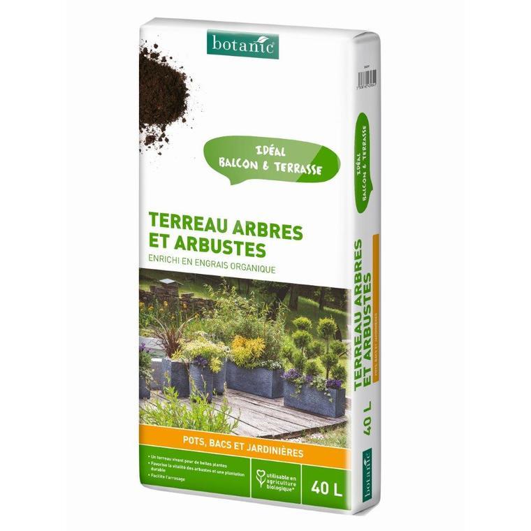 Terreau arbres et arbustes 40 L 386899