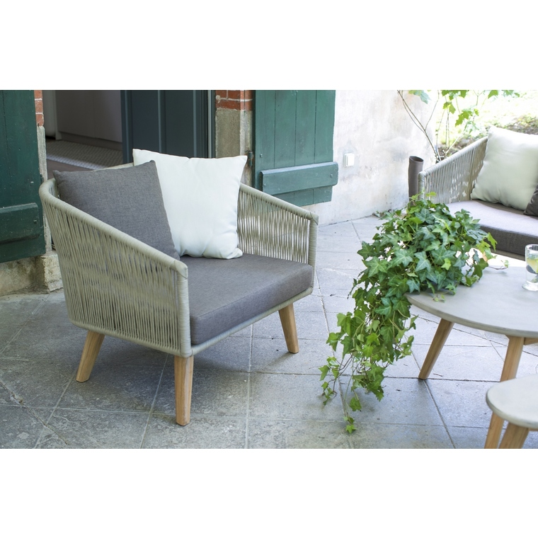 Fauteuil bas Orchis 386917